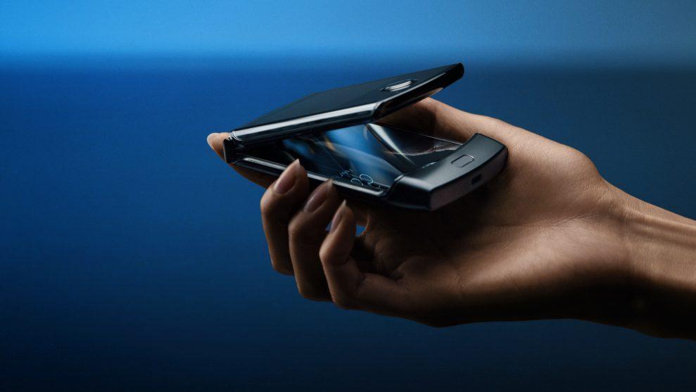 Ny Motorola Razr med Android og fleksibel skjerm