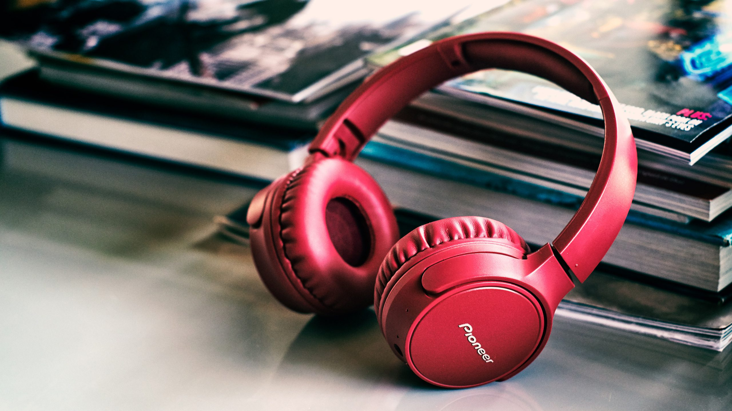 Pioneer SE-S6 red