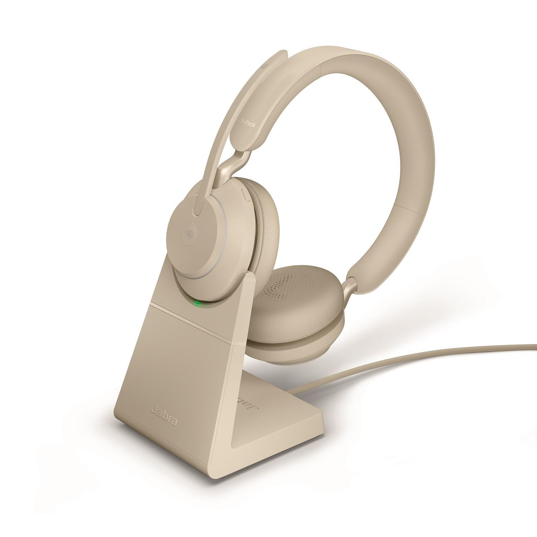 Jabra Evolve2 65 beige charge