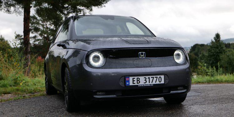 Honda e, Photo: Geir Nordby, L&B