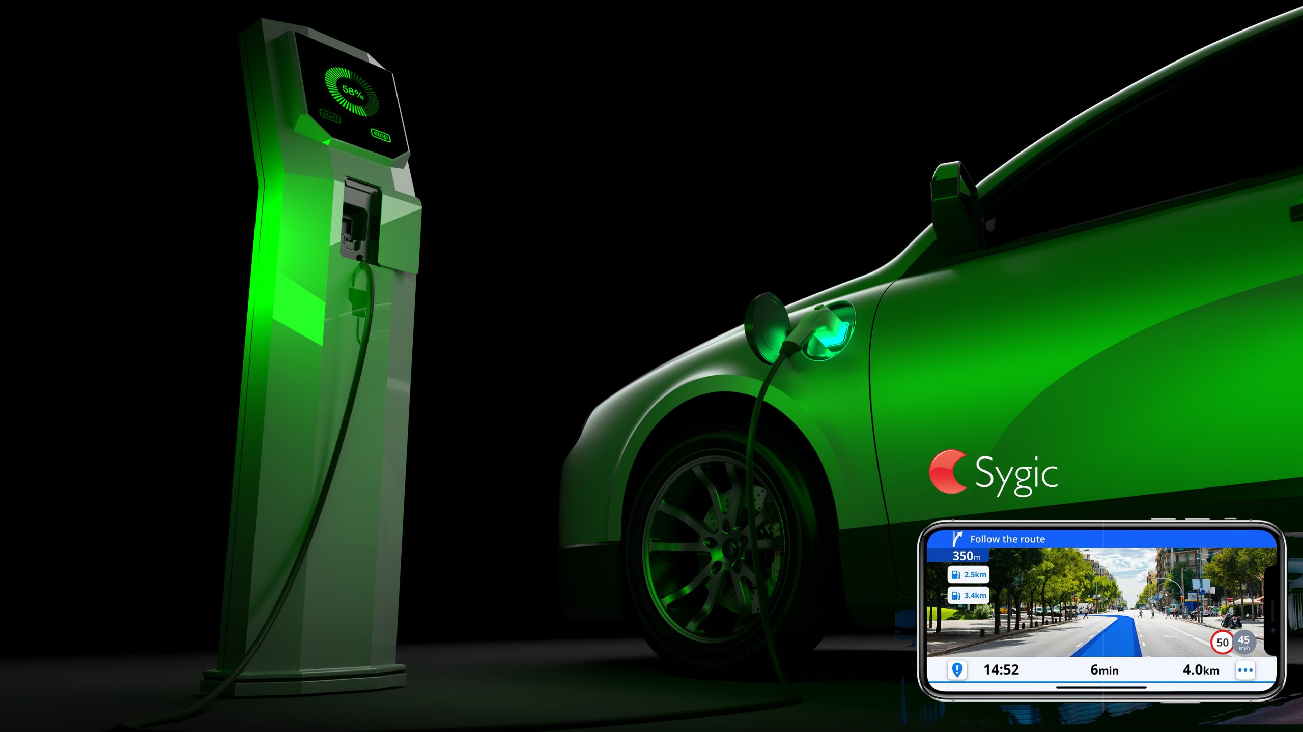 Sygic EV Mode
