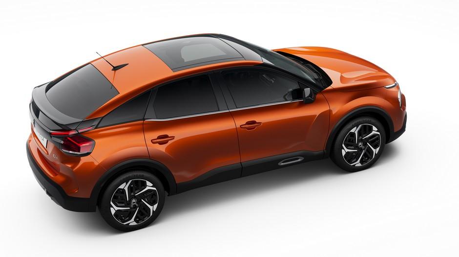 Citroen C4e orange - Kompakt franskmann