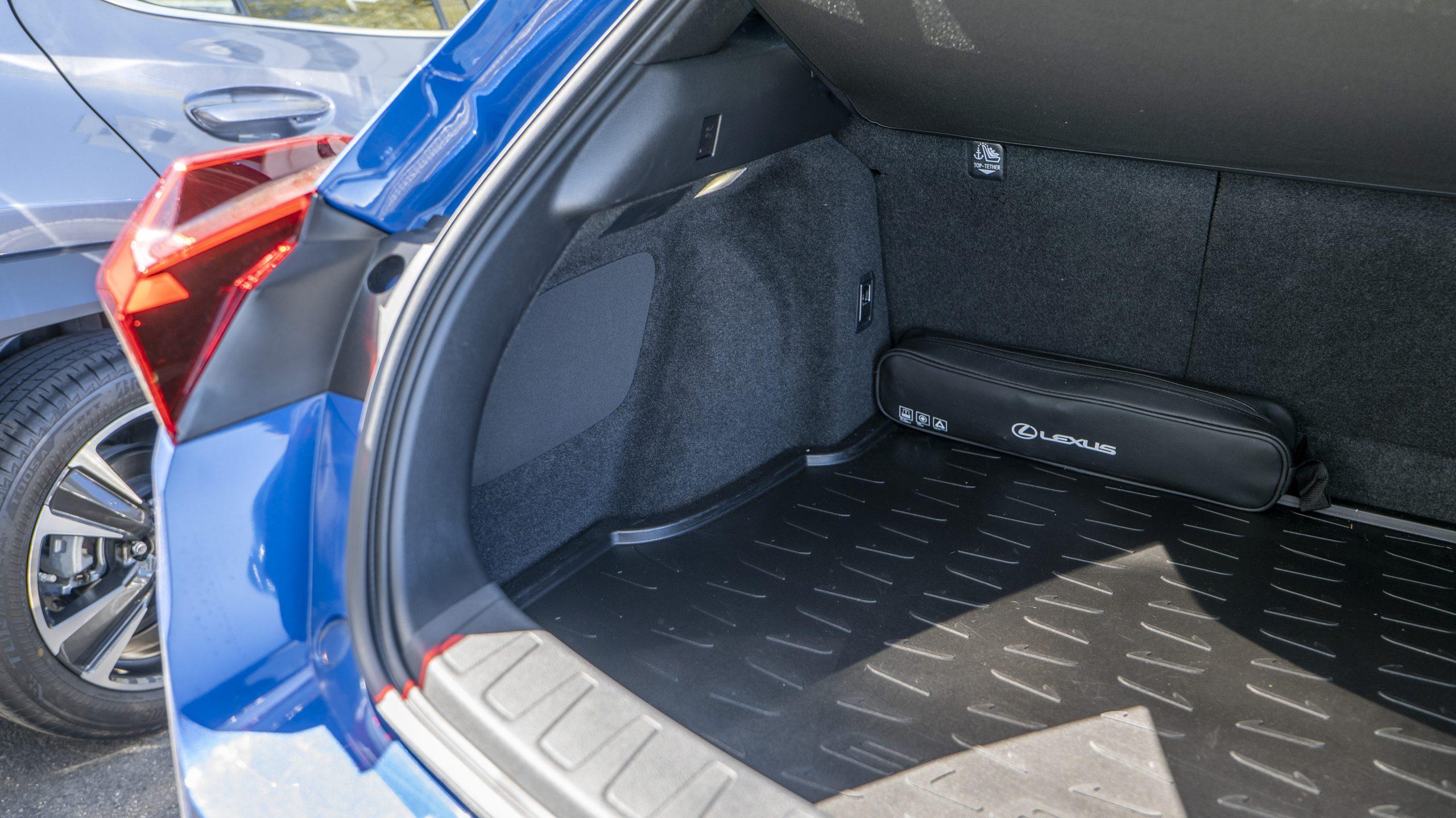 Lexus UX 300e subwoofer