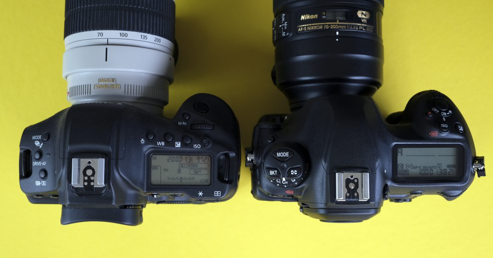 Nikon D6 Canon 1DXIII topp