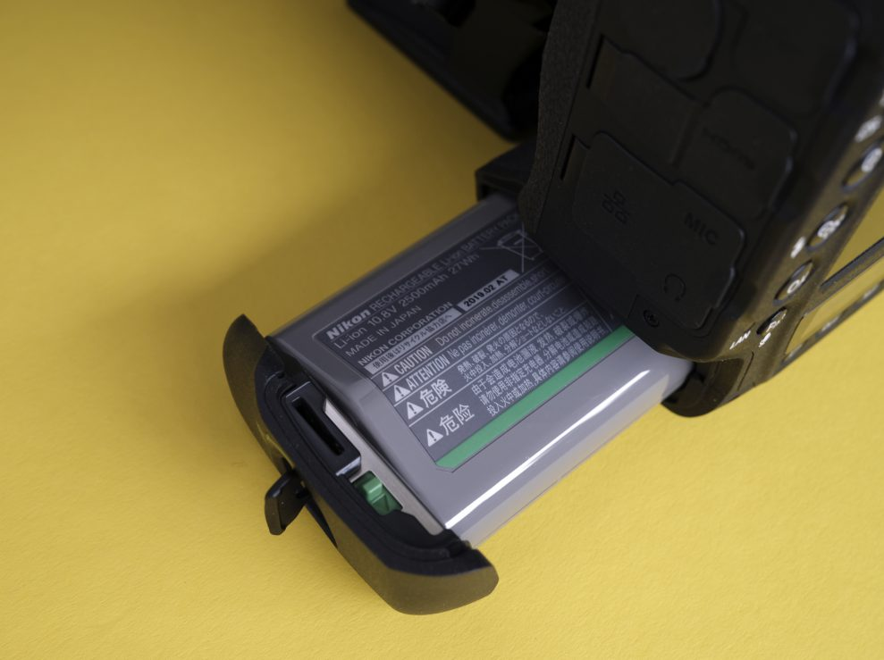 Nikon D6 batteri