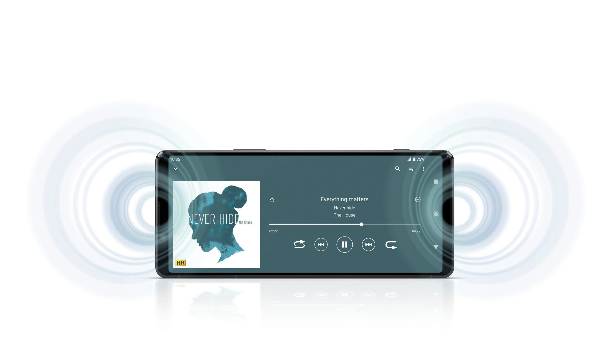 Xperia 1 II Front Stereo Speakers scaled - Sony Xperia 1 II