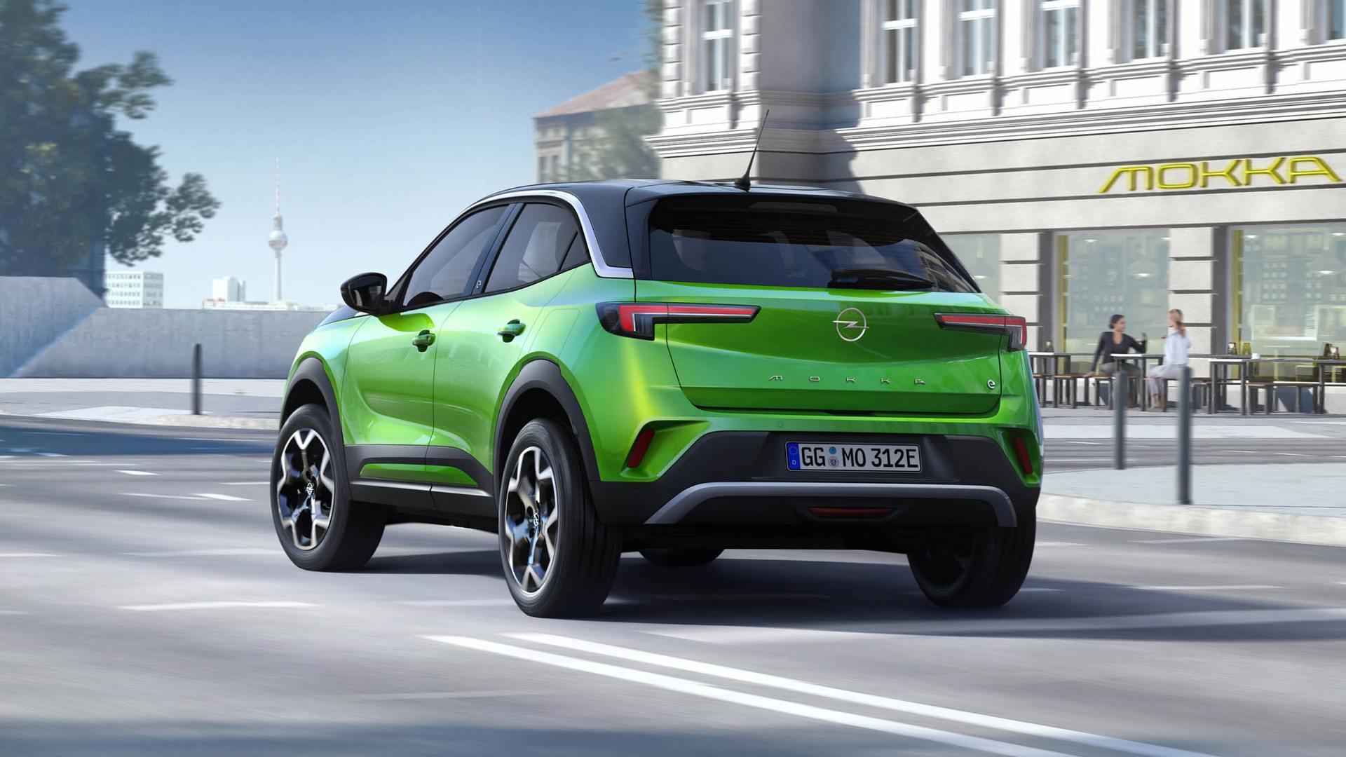 opel mokka 2021 03 - Apple CarPlay og surroundlyd
