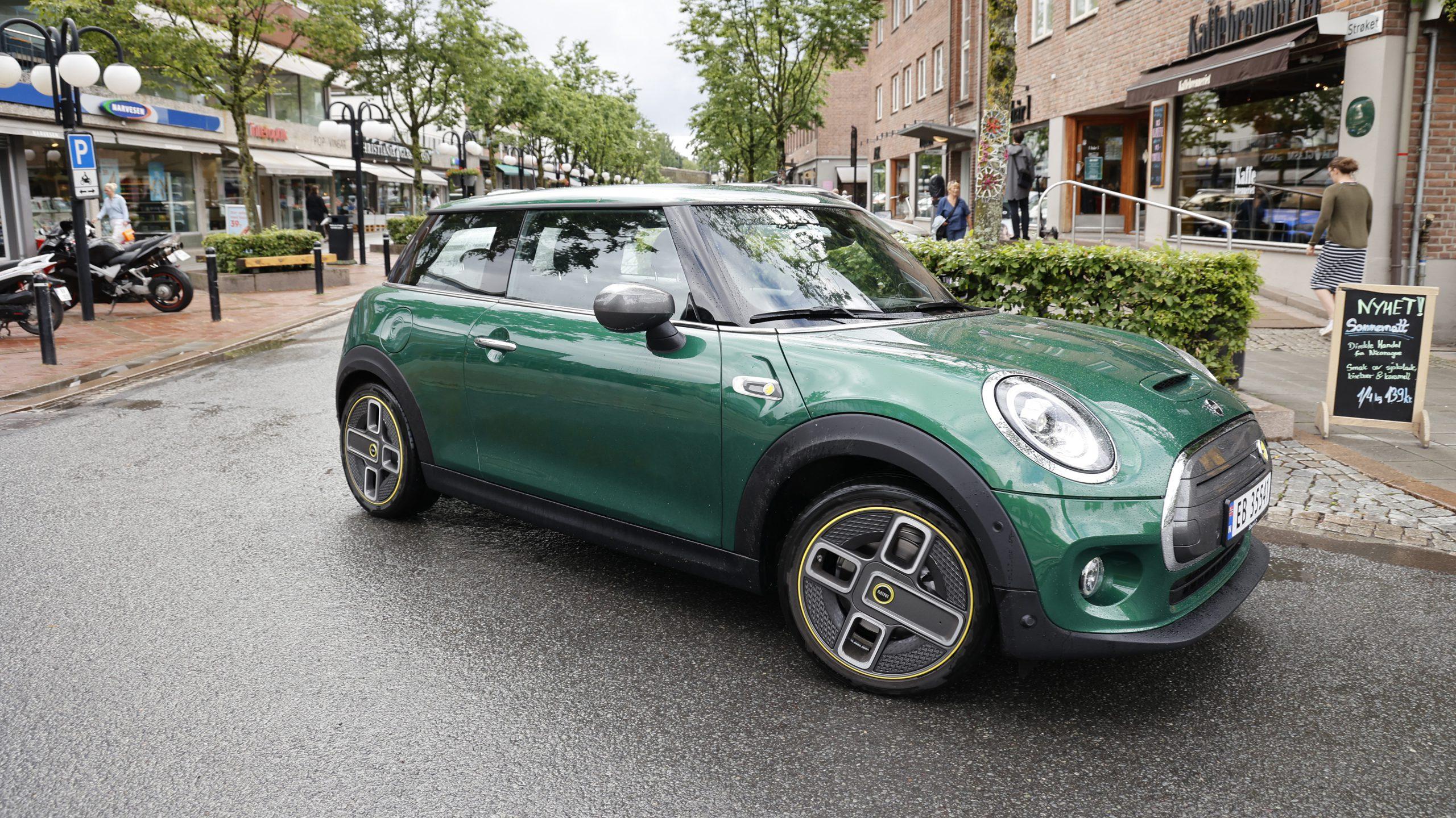 Mini Cooper SE urban (foto Lasse Svendsen)