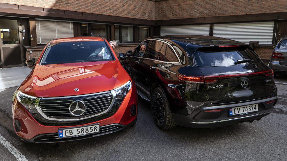 Mercedes EQC 400 4MATIC Audun & Geir