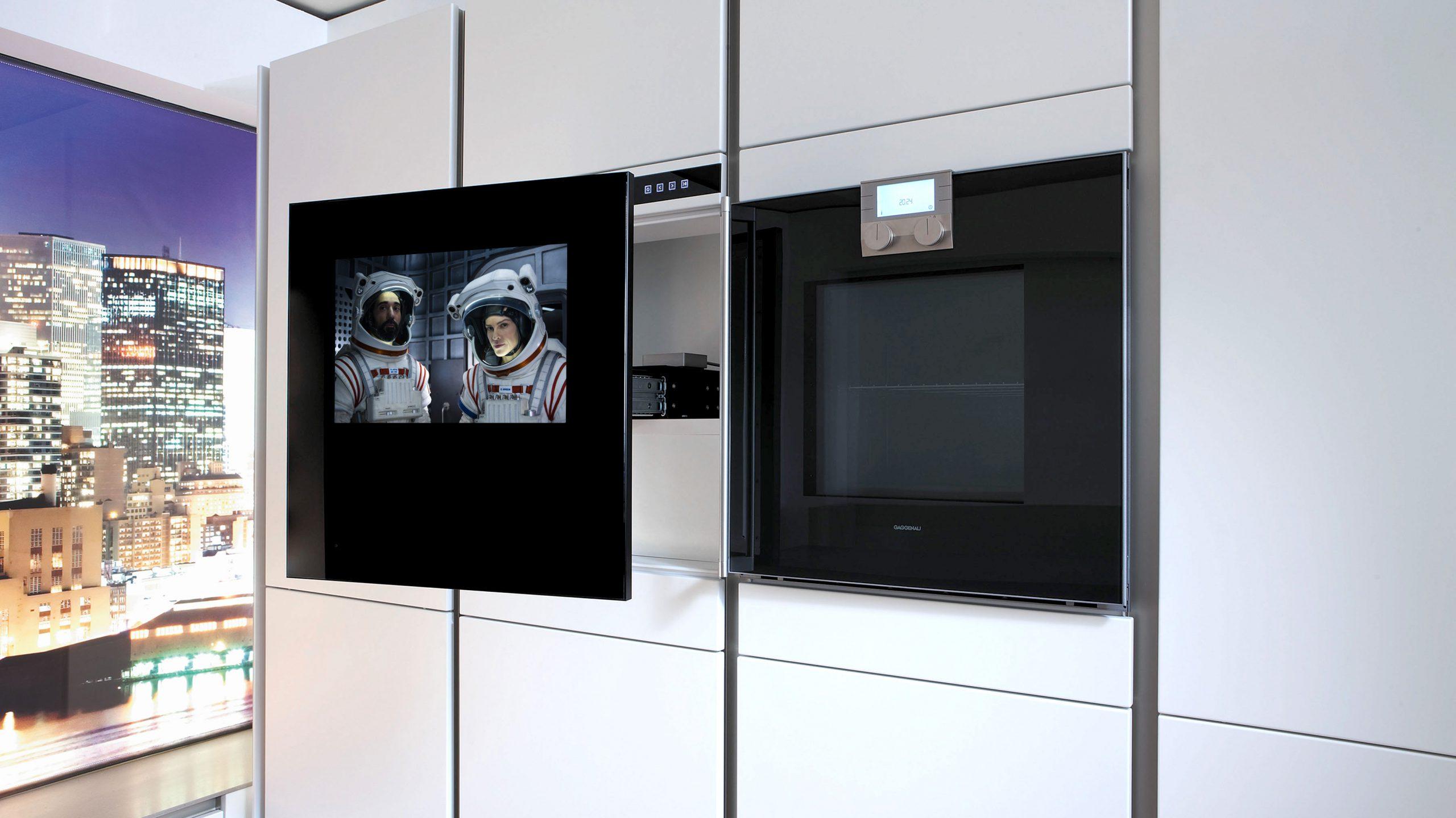 TV på kjøkkenet