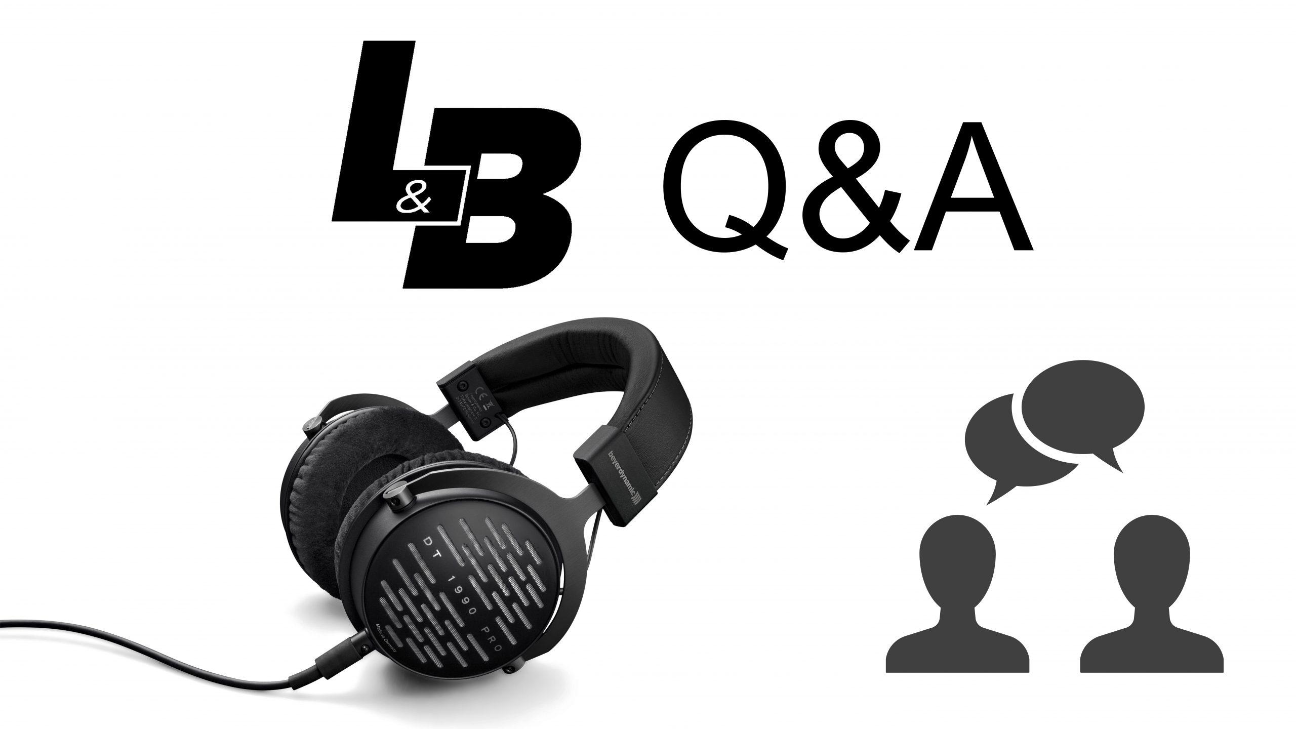 L&B Lyd & Bilde Q&A live