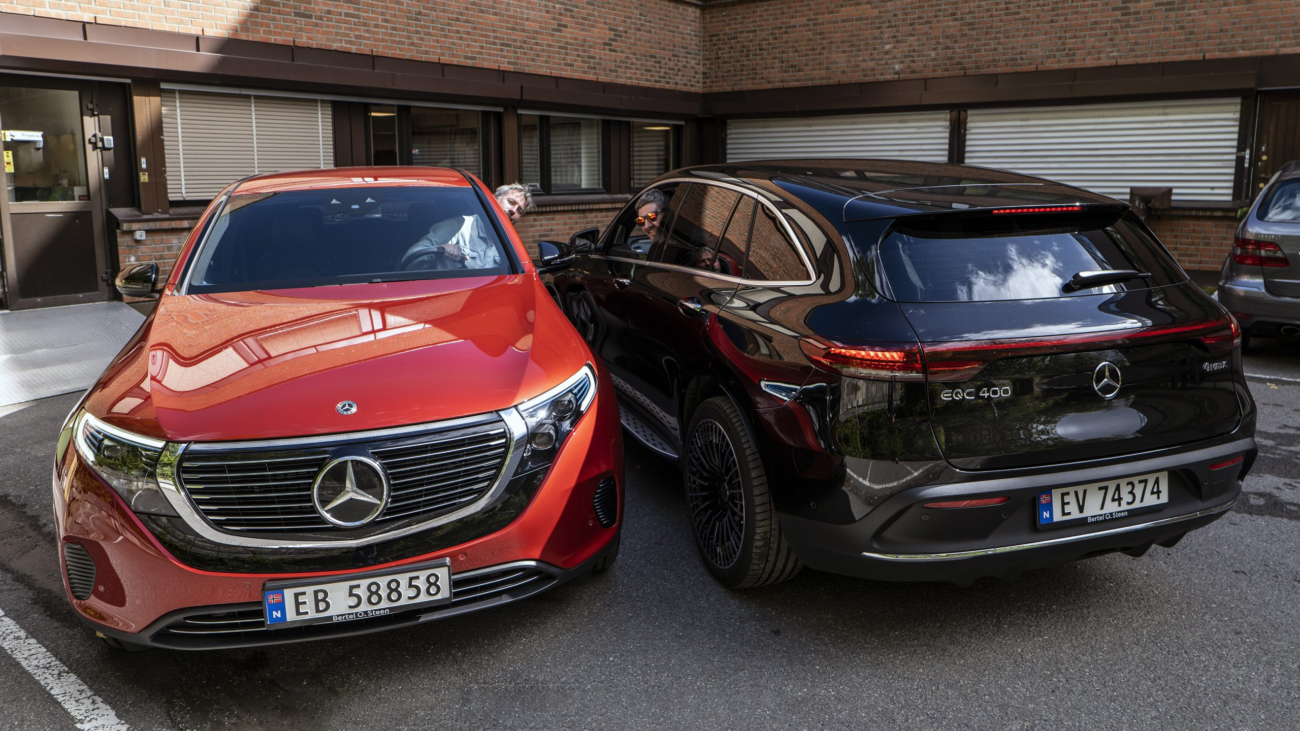 Mercedes EQC Audun & Geir