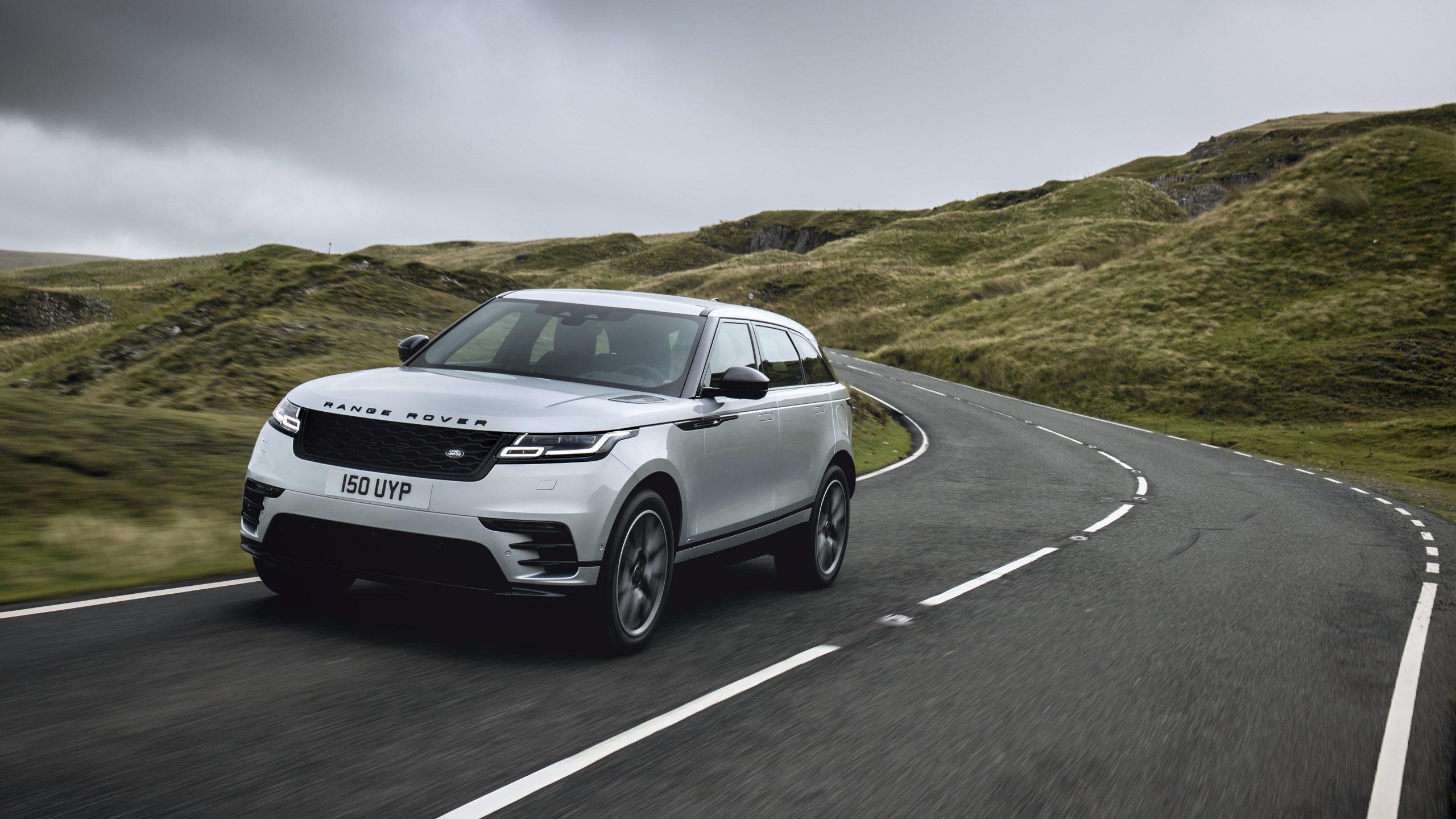 Range Rover Velar får aktiv støykansellering fra Silentium. Foto: Jaguar Range Rover
