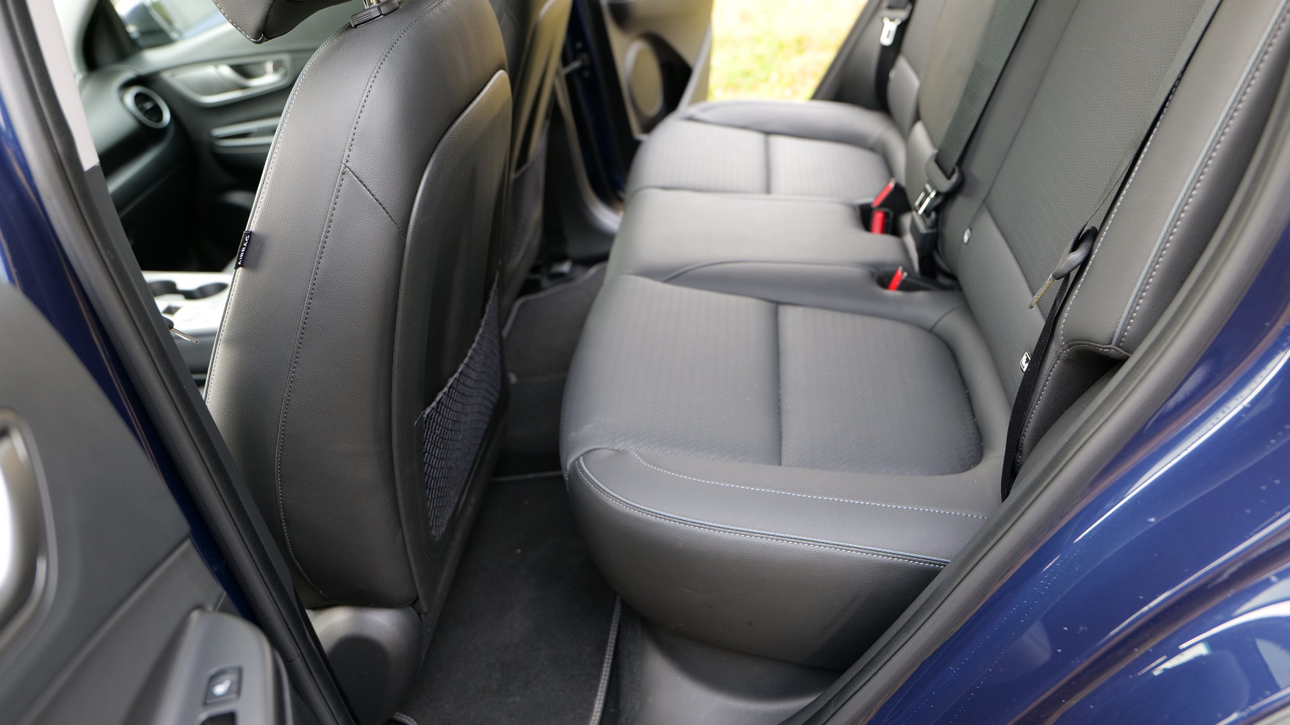 Hyundai Kona backseats