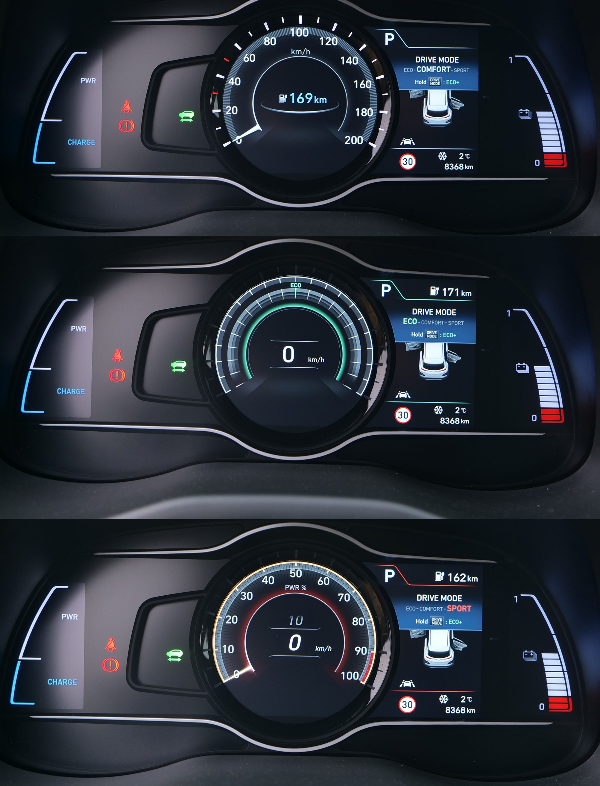 Hyundai Kona drive modes