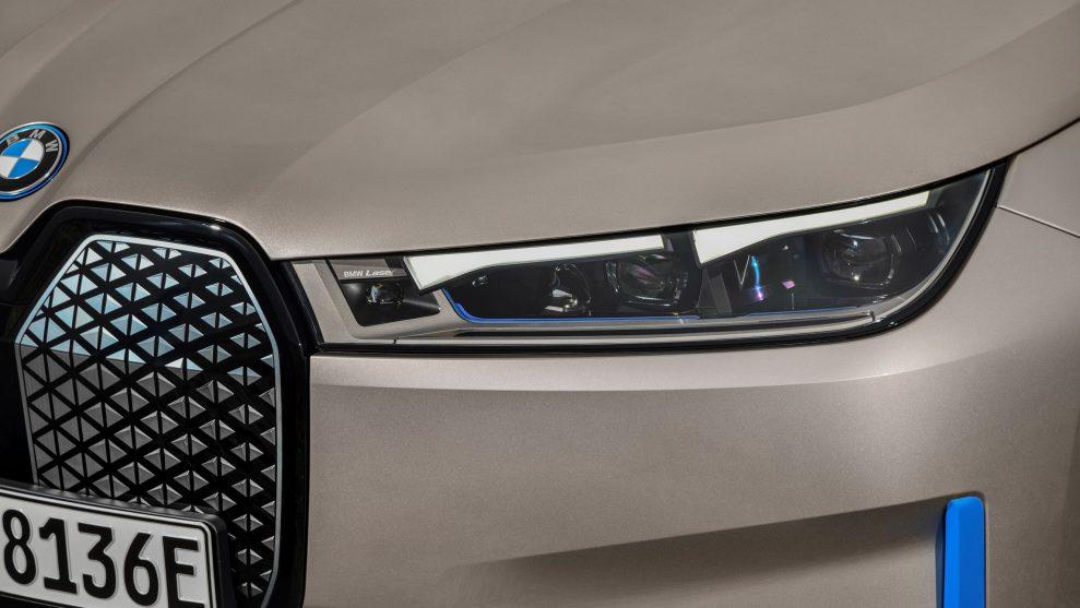 New BMW iX 5