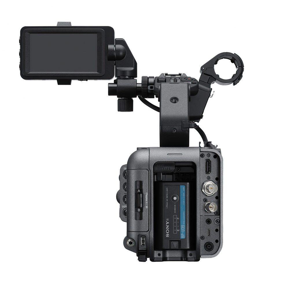 Sony FX6 rear