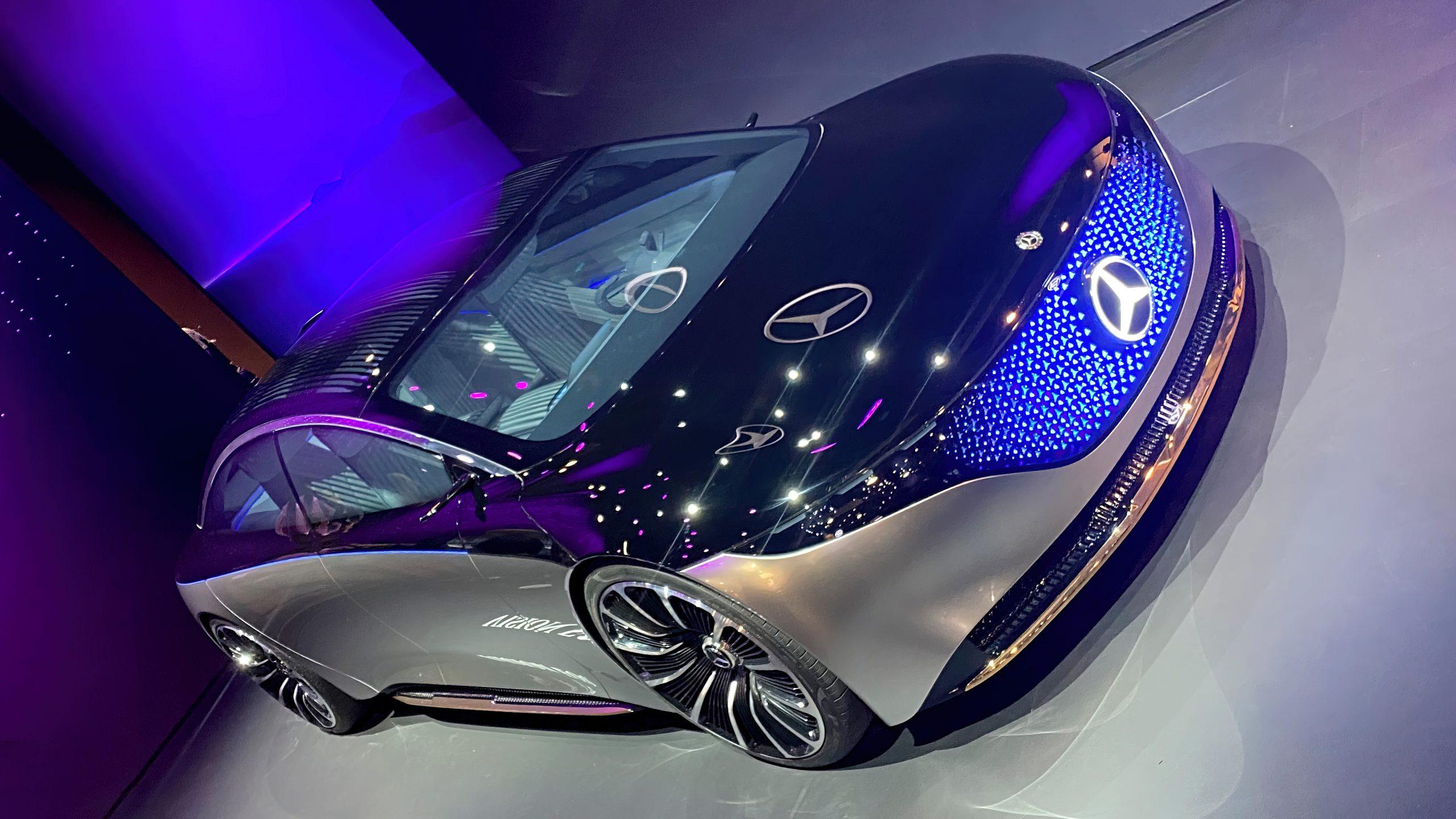 Mercedes Vision EQS, foto: Geir Gråbein Nordby