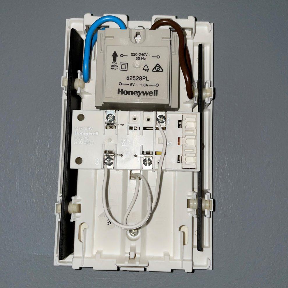 Doorbell transformer