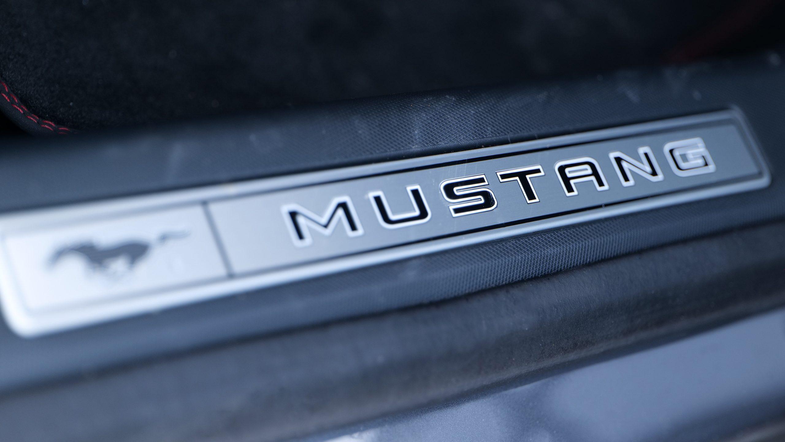 Ford Mustang Mach-E logo trunk