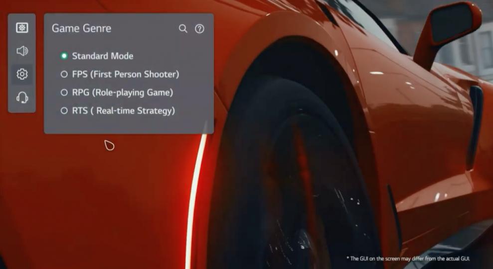LG Game Optimizer 1