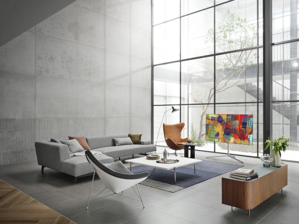 LG OLED evo Gallery Stand