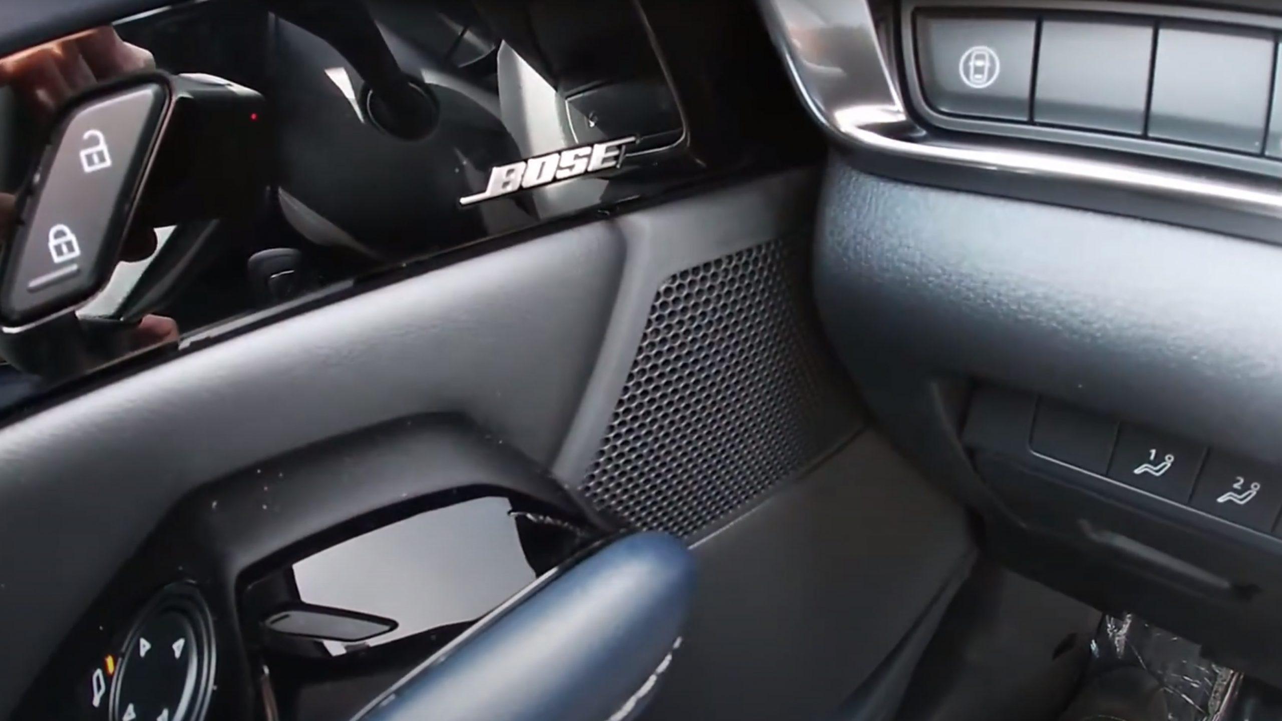 Mazda MX-30 midrange unit
