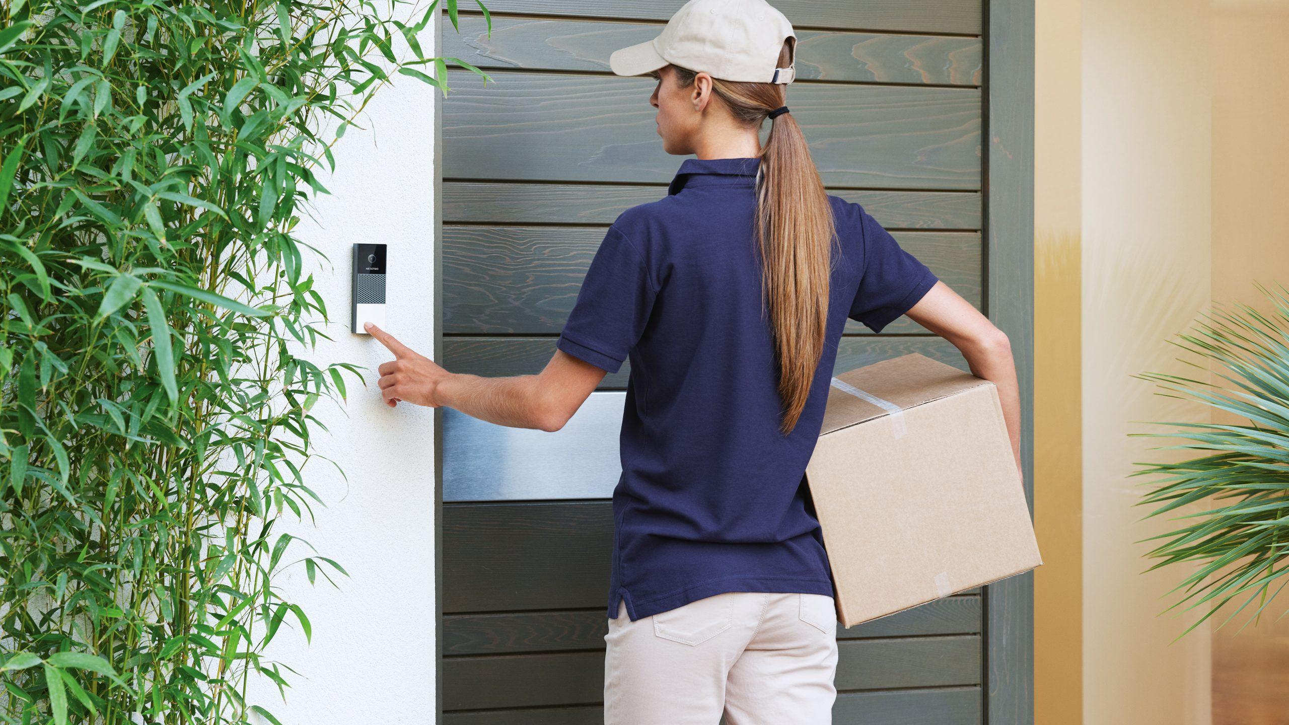Netatmo Smart Video Doorbell lifestyle