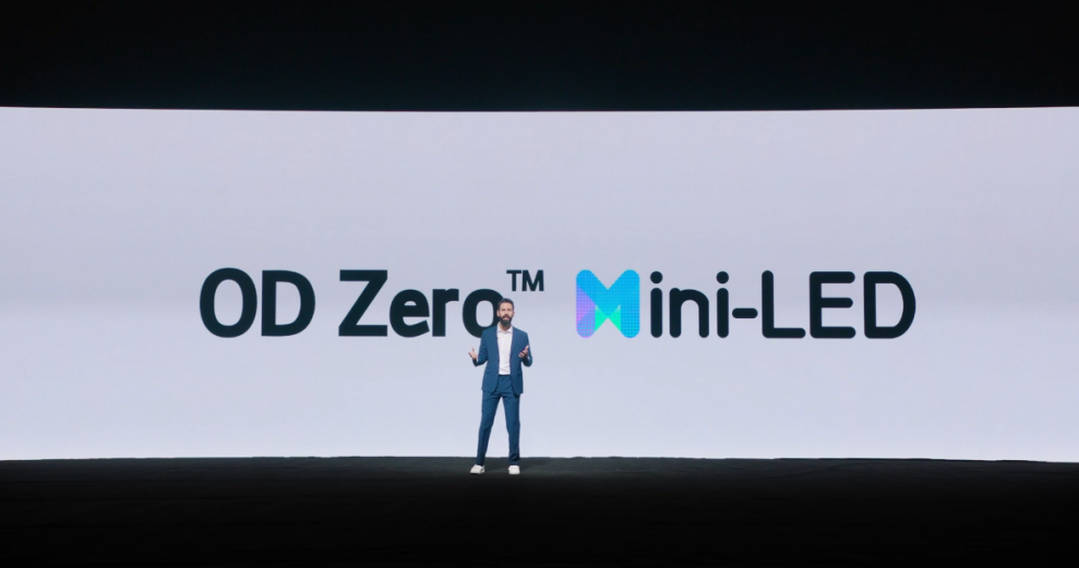 TCL OD Zero MiniLED technology