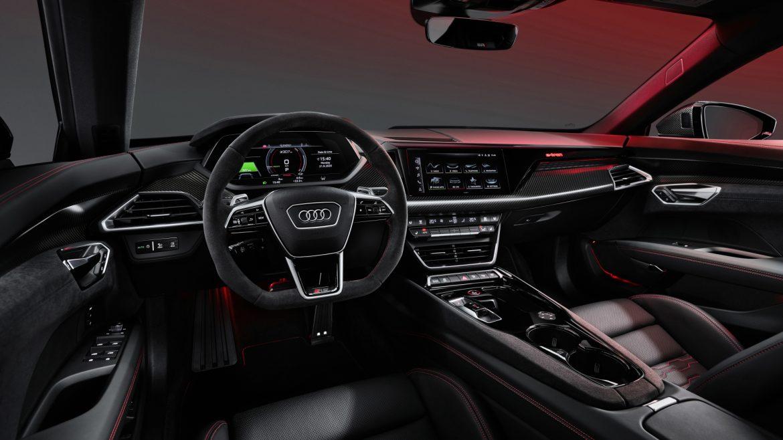 Audi e-tron GT interior 2