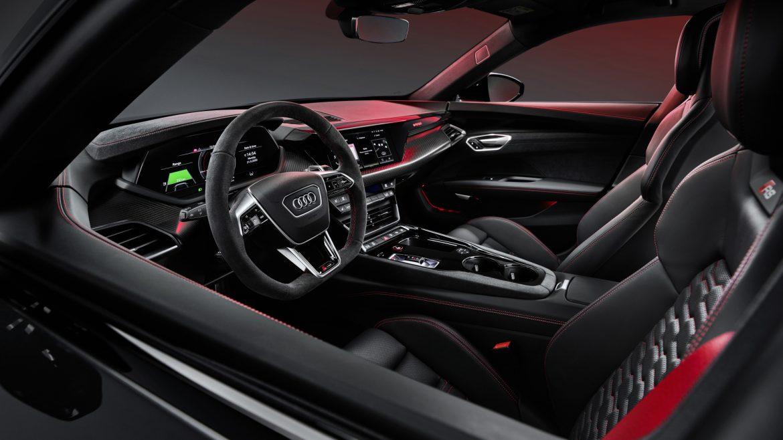 Audi e-tron GT interior 3