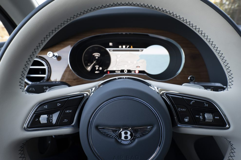 Bentley Bentayga B logo II