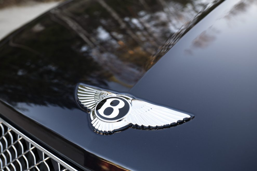 Bentley Bentayga B logo i