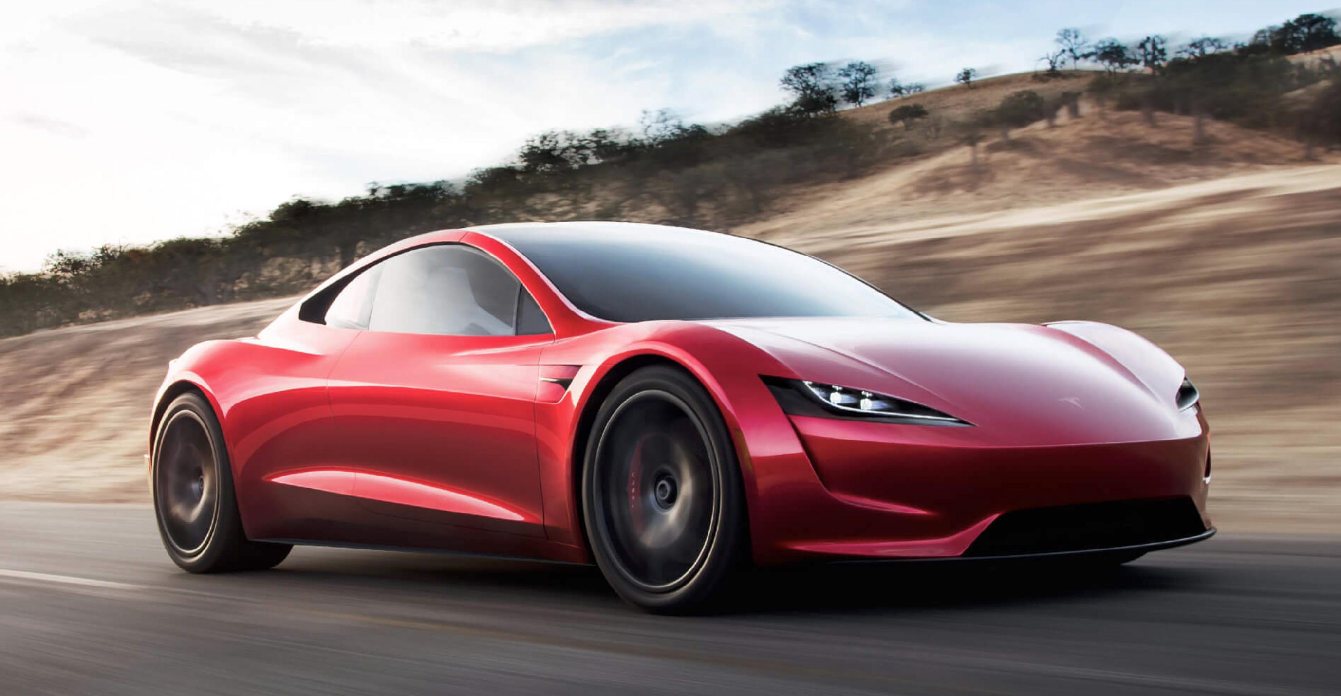 Tesla Roadster fart supercharger