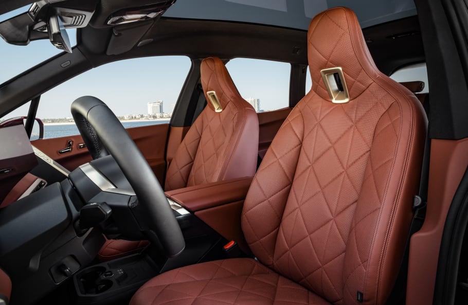 BMW iX seats