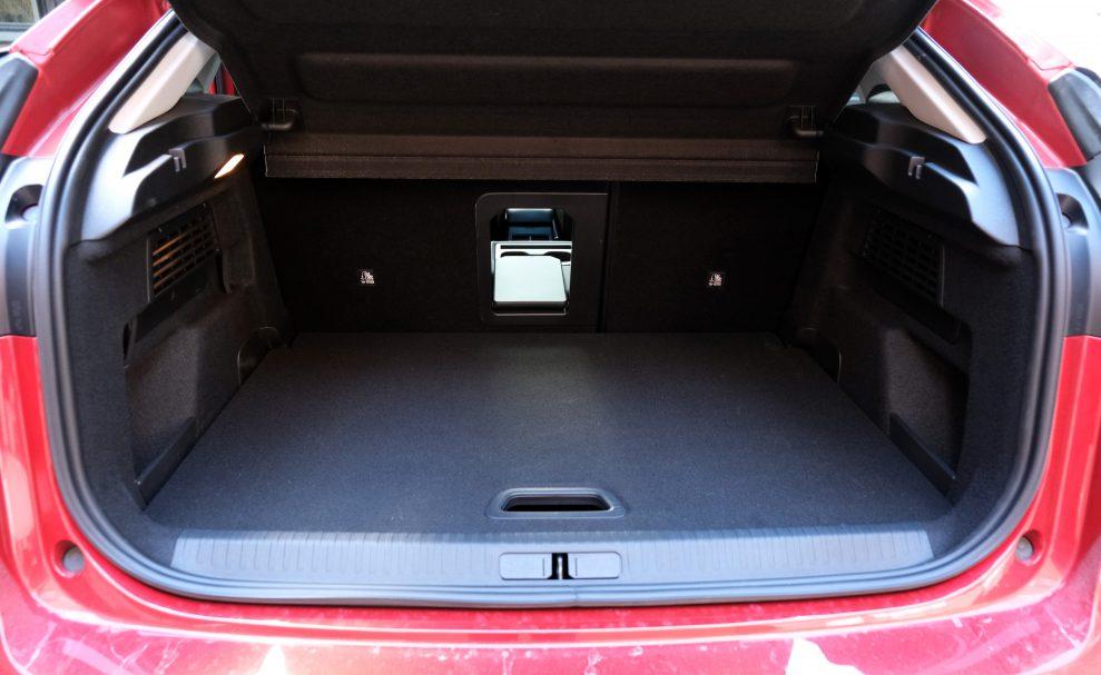 Citroën ë-C4 Shine bagasjerom