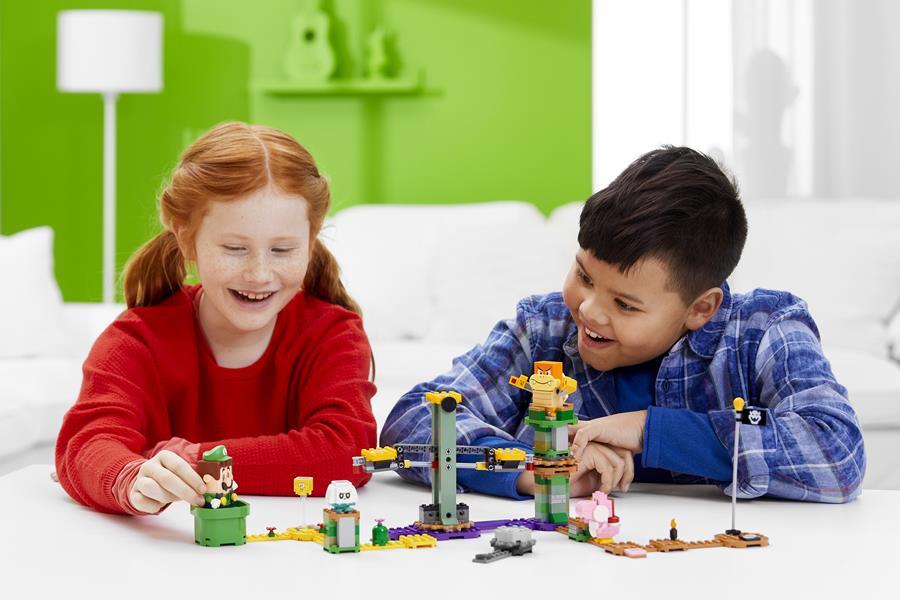 Adventures with Luigi Lego-luigi
