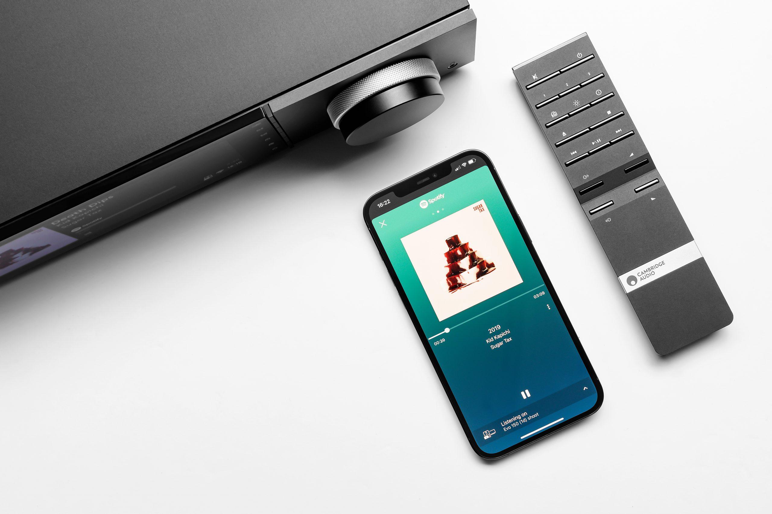 Cambridge Audio Evo remote & phone