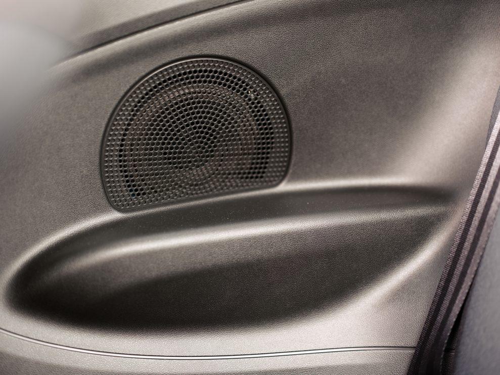 FIAT 500 rear speaker