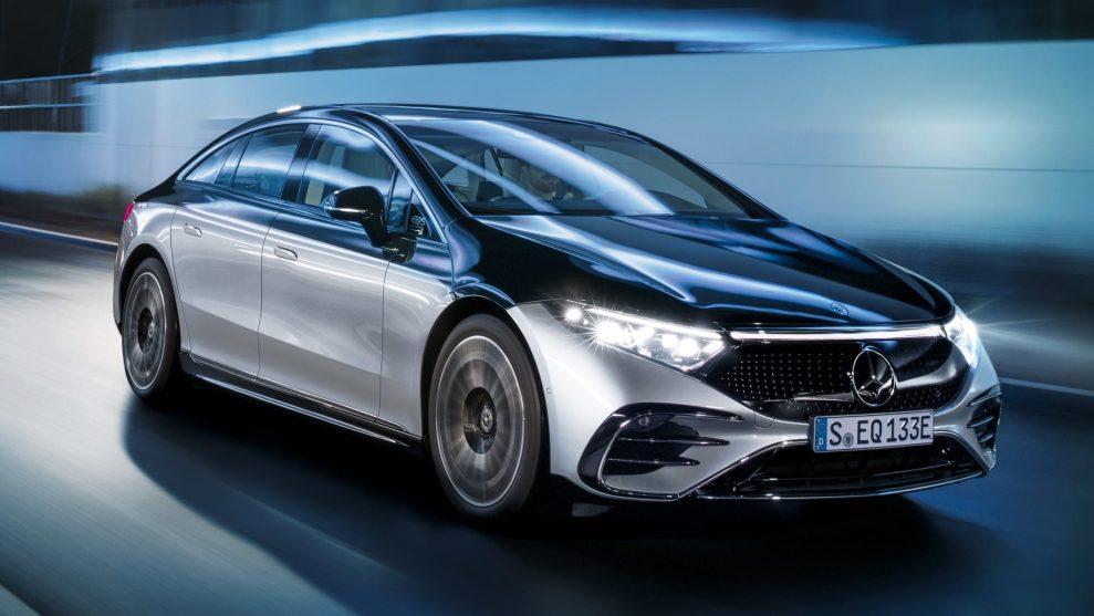 Mercedes EQS 3