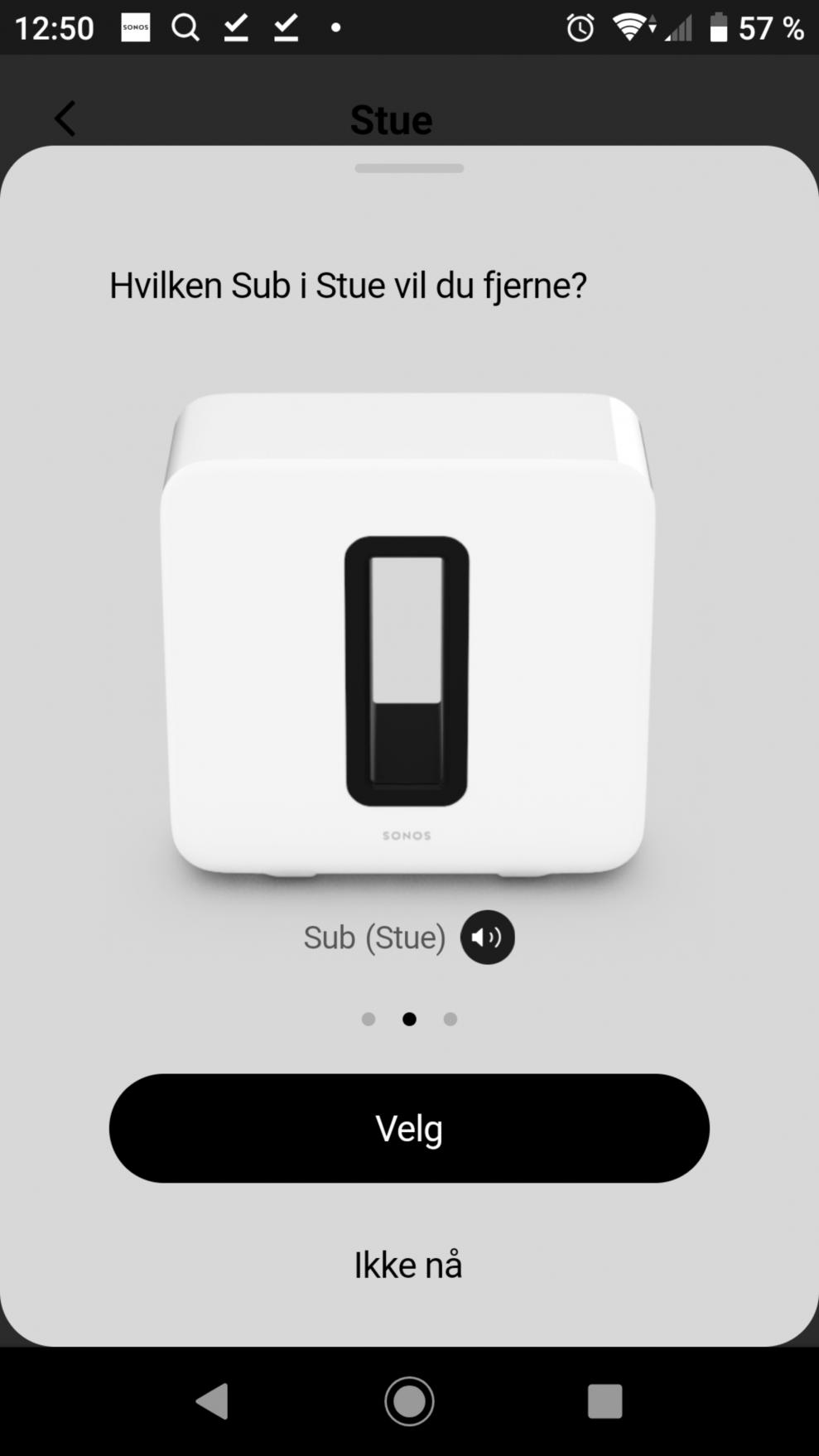 Sonos Sub setup 16