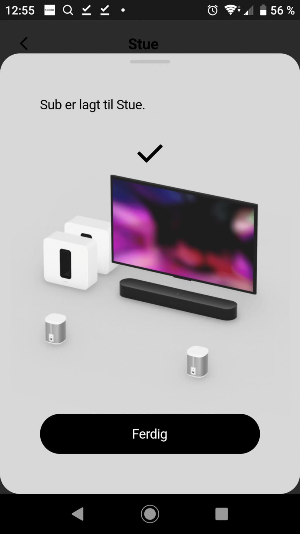 Sonos Sub setup 17