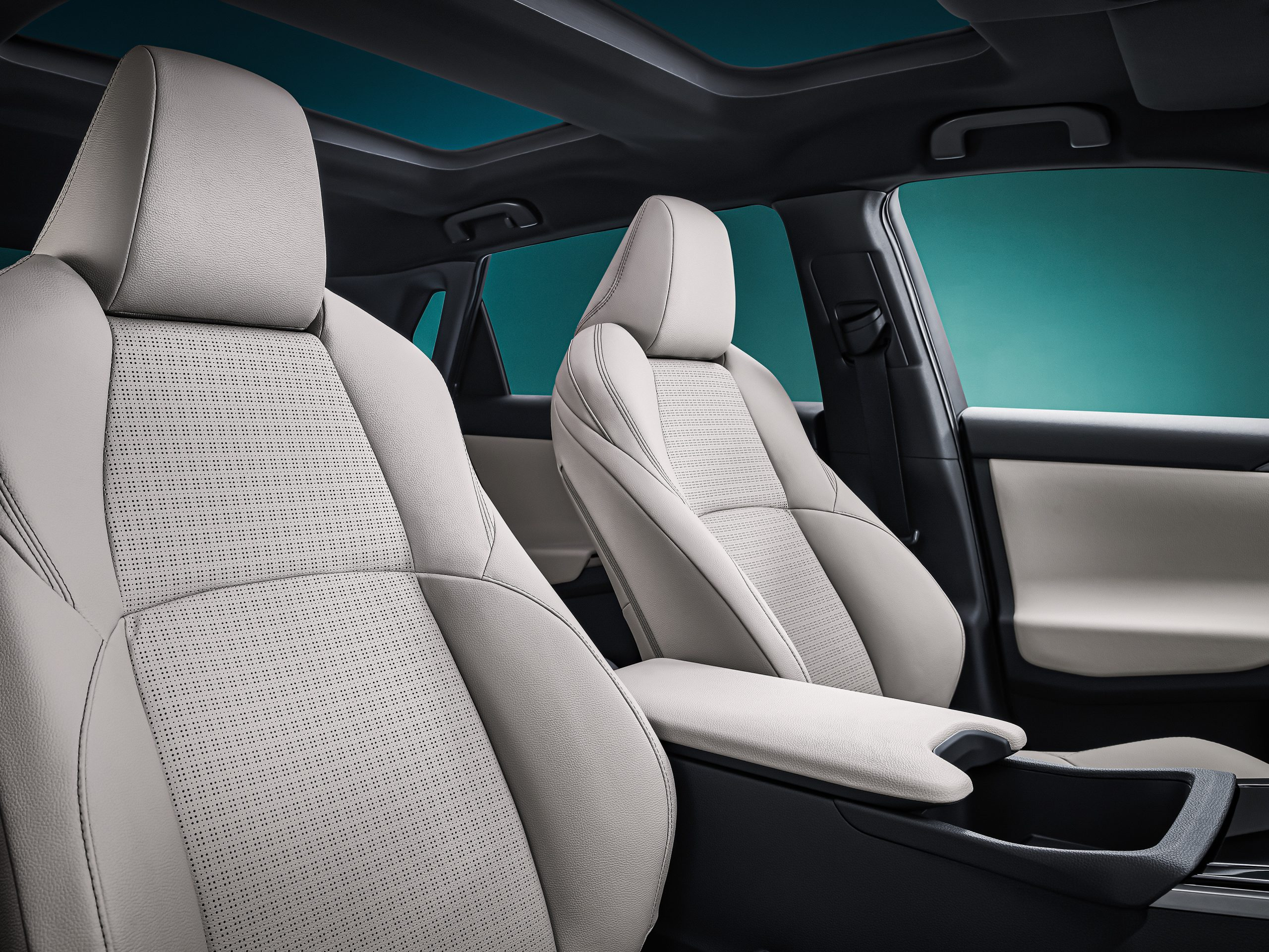 Toyota bZ4X interior
