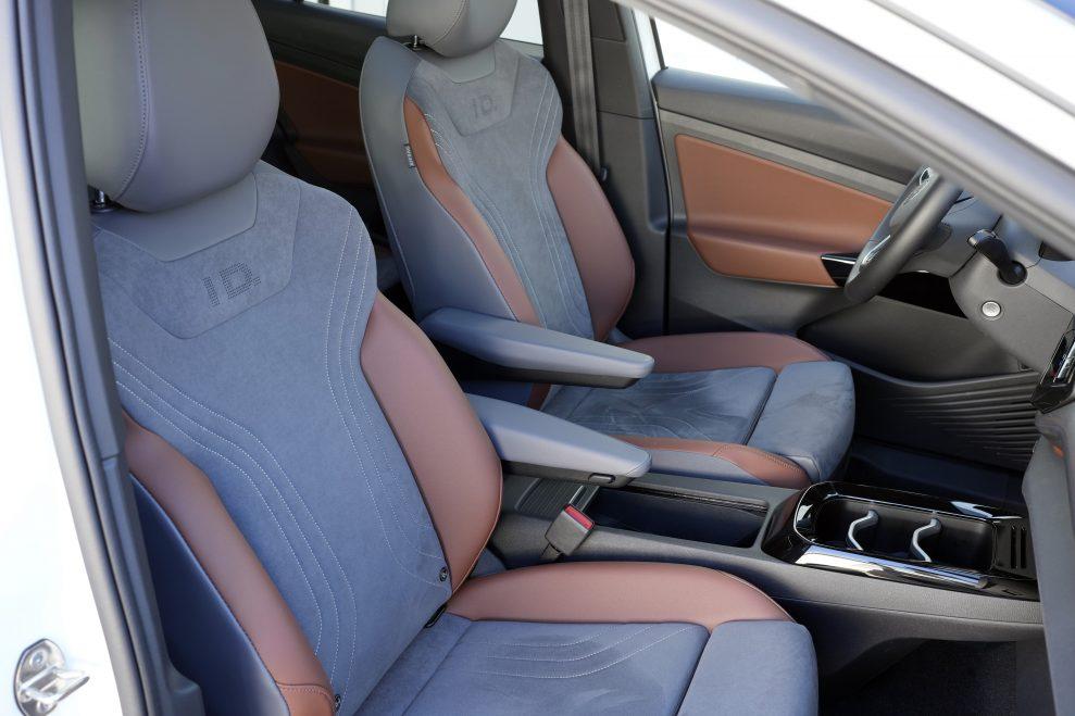 VW ID4 hvit forseter