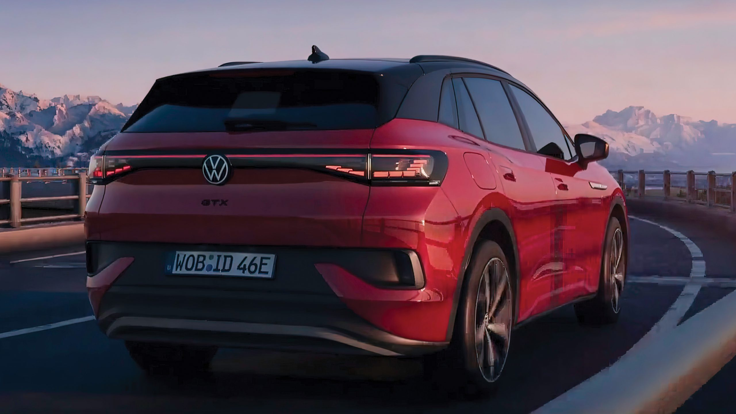 Volkswagen ID4 GTX rear