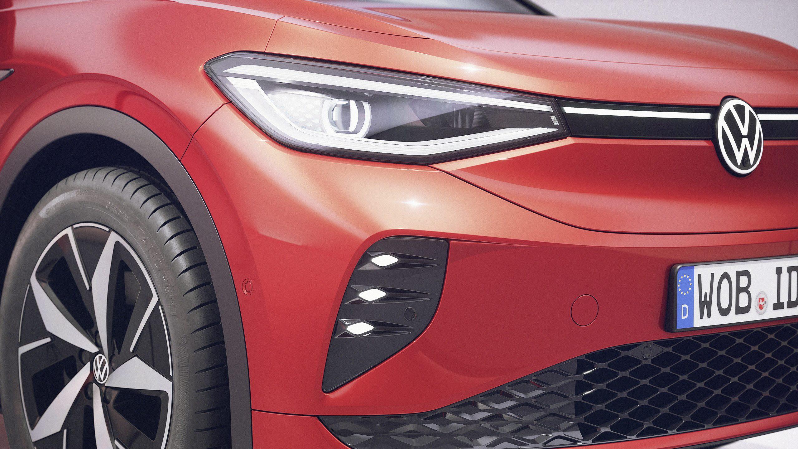 The new Volkswagen ID.4 GTX