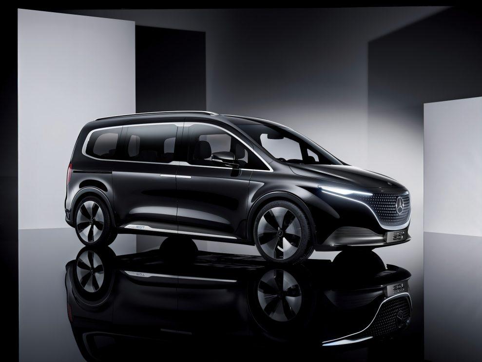 Premiere des Concept EQT – Vorbote einer neuen Hochwertigkeit im Small-Van-Segment  Premiere of the Concept EQT – forerunner of a new premium quality in the small van segment
