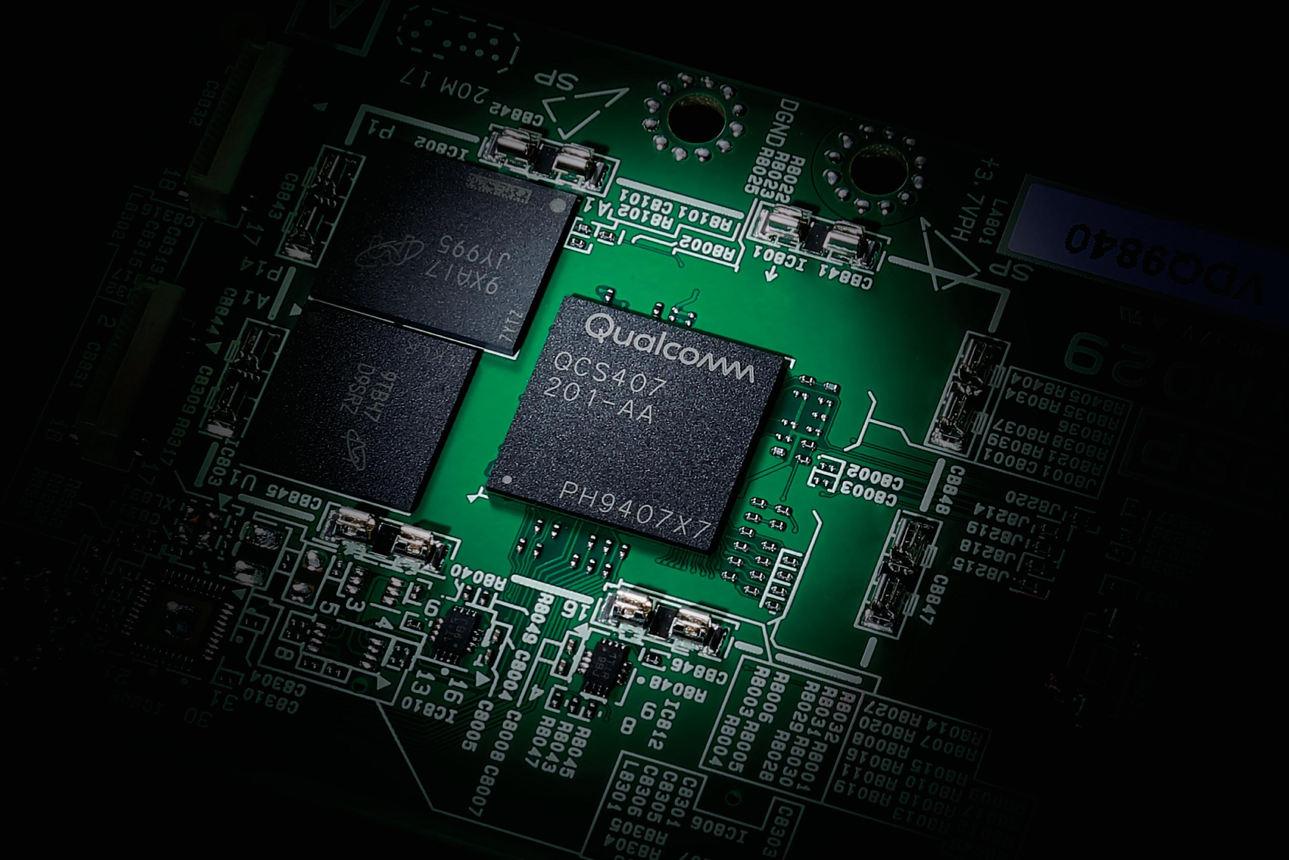 Yamaha Qualcomm QCS407