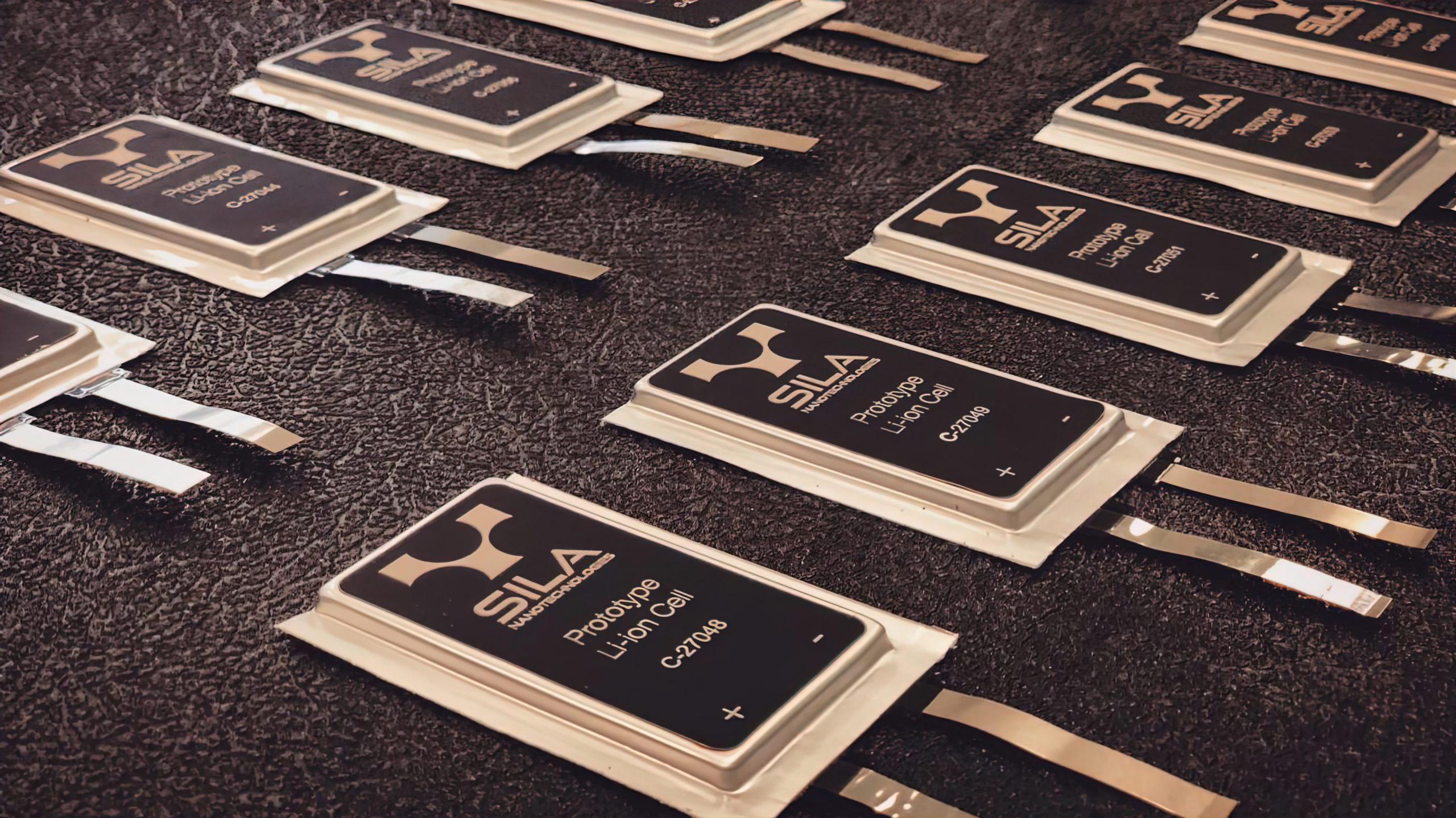 Sila Nanotechnologies Battery Cells