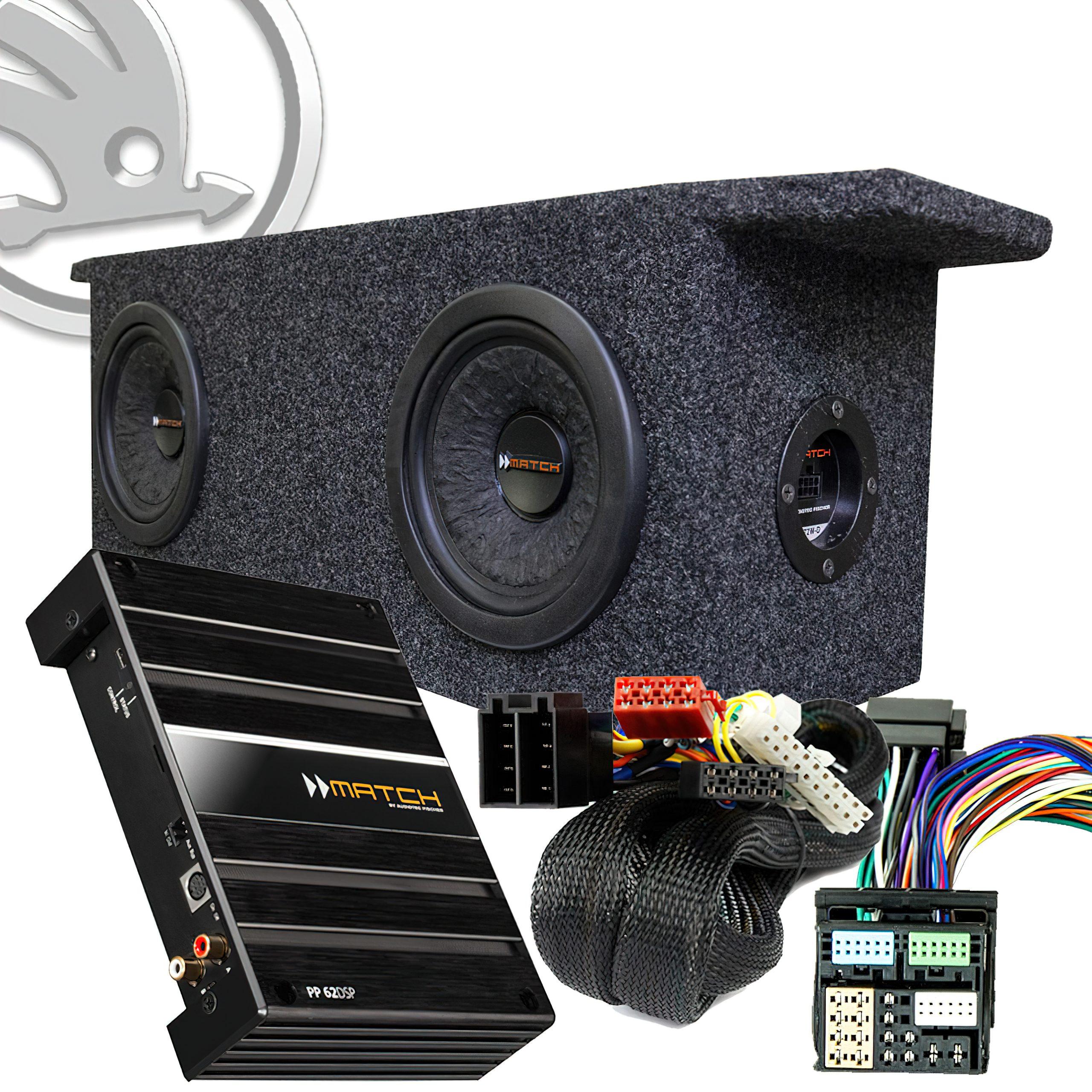 Match Plug & Play Skoda Enyaq Bass Brothers kit
